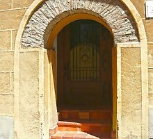 Segovia, Spain - Mysterious Door by Michelle Falcony