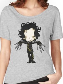 Edward with the hands of Scissors Women's Relaxed Fit T-Shirt