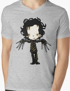 Edward with the hands of Scissors Mens V-Neck T-Shirt