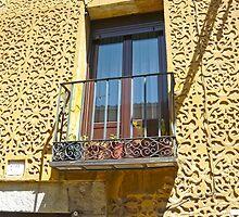 Segovia, Spain - Romantic balcony by Michelle Falcony