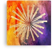 Abstract,colorful,gold,contemporary art,modern,trendy,awesome Metal Print