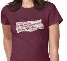 "Gilmore Girls ""Lorescope"" Womens Fitted T-Shirt"