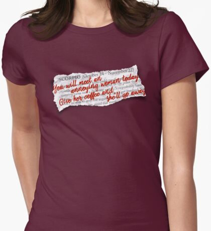 "Gilmore Girls ""Lorescope"" Womens Fitted T-Shirt"