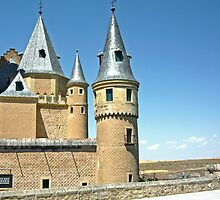Segovia, Spain - Segovia Castle by Michelle Falcony