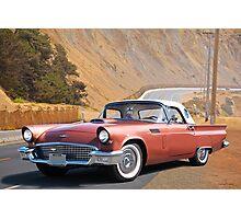 1957 Ford Thunderbird 'Porthole Top' Photographic Print