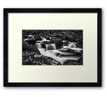 Aqua Mystic  Framed Print