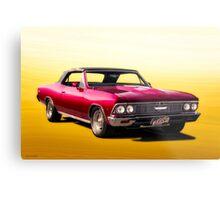 1966 Chevelle Malibu Convertible Metal Print