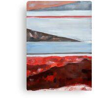 Abstract Lake Canvas Print