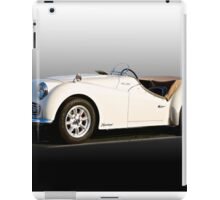 Triumph TR3A 'Supercharged' II  iPad Case/Skin