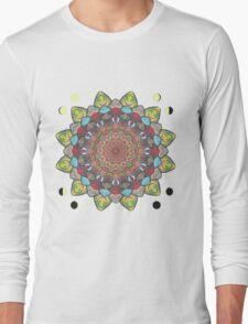 SUN MOON MANDALA Long Sleeve T-Shirt