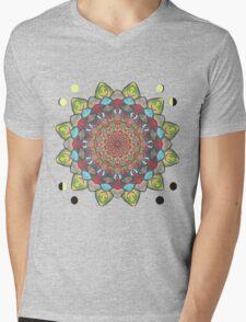 SUN MOON MANDALA Mens V-Neck T-Shirt