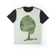 Here Lies A Tree - Eulogy for an old oak Graphic T-Shirt