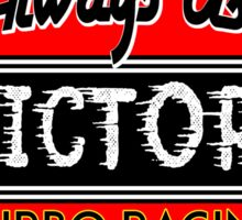 Victory Racing Gas Fuel Vintage Auto Car Advertising Logo Hot Rods Sticker