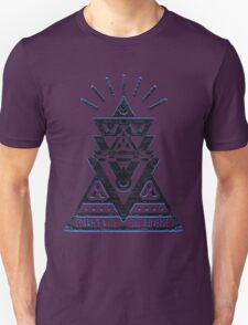 Connect With The Universe 2 - Typography and Geometry Unisex T-Shirt