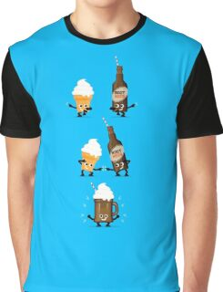 Character Fusion - Root Beer Float Graphic T-Shirt