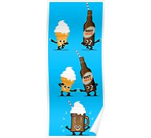 Character Fusion - Root Beer Float Poster