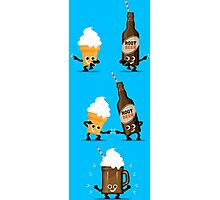 Character Fusion - Root Beer Float Photographic Print