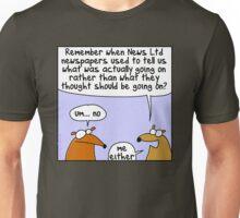 Remember News Ltd? Unisex T-Shirt