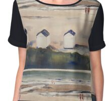 Cadzand Beach Chiffon Top