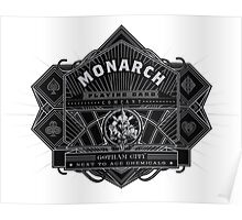 Monarch Playing Card Company Poster