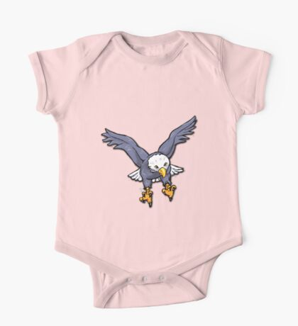 Bald Eagle One Piece - Short Sleeve