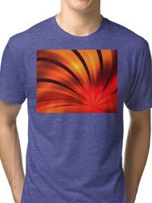 Ruby Orange Petals Tri-blend T-Shirt