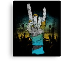 Zombie Heavy Metal. Canvas Print