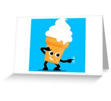 Character Fusion - Just Ice Cream Greeting Card