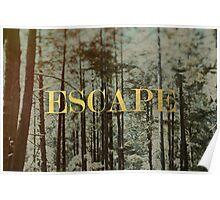 Escape x Forest Poster