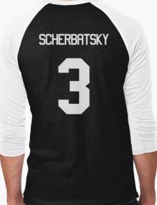 SCHERBATSKY Men's Baseball ¾ T-Shirt