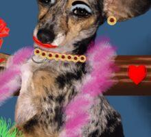 The Floozie Puppy Sticker