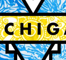 U of M logo Boho Sticker