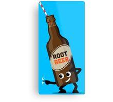 Character Fusion - Just Root Beer Metal Print