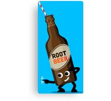 Character Fusion - Just Root Beer Canvas Print