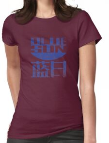 Blue Sun Womens Fitted T-Shirt