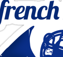 It's always been the blue french horn Sticker