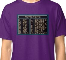 Monsters Lineup Classic T-Shirt