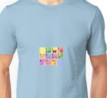 Jazzy Music Instruments and Numbers  Unisex T-Shirt