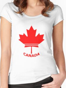 Canada Pride 1 Women's Fitted Scoop T-Shirt