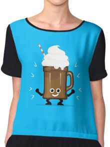 Character Fusion - Just Ice Cream Chiffon Top