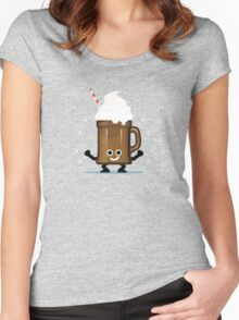 Character Fusion - Just Ice Cream Women's Fitted Scoop T-Shirt