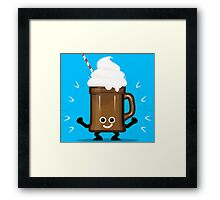 Character Fusion - Just Ice Cream Framed Print