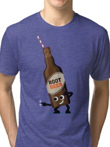 Character Fusion - Just Root Beer Tri-blend T-Shirt