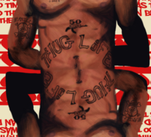 Hip Hop King -- 2Pac Sticker