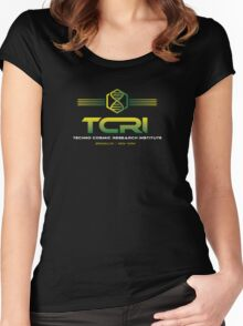 TCRI Women's Fitted Scoop T-Shirt