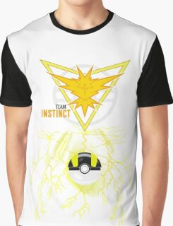 Instinct Yellow Team, Pokemon GO  Graphic T-Shirt