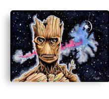 I Am Groot Canvas Print