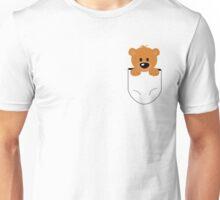 Bear in a pocket Unisex T-Shirt