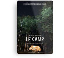 Affiche // Le Camp Metal Print