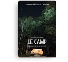 Affiche // Le Camp Canvas Print